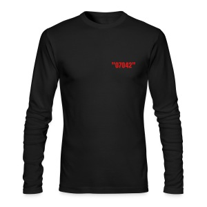 07042 by Q the Gov - Men's Long Sleeve T-Shirt by Next Level