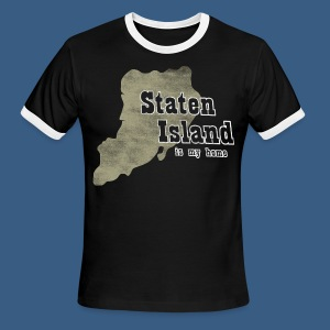 Staten Island is My Home - Men's Ringer T-Shirt