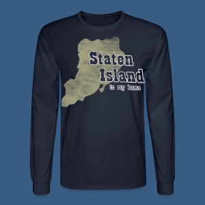 Staten Island is My Home - Men's Long Sleeve T-Shirt