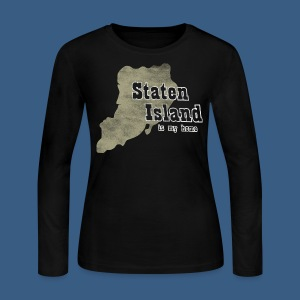 Staten Island is My Home - Women's Long Sleeve Jersey T-Shirt
