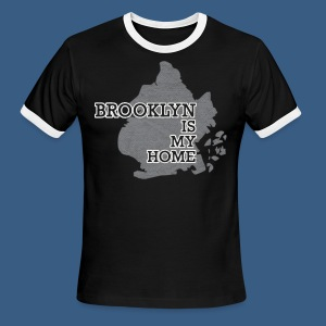 Brooklyn is My Home - Men's Ringer T-Shirt