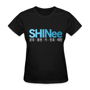 [SHINee] SHINee & Hangul Names - Women's T-Shirt