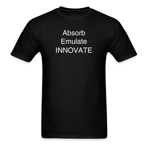 Absorb Emulate and Innovate - Men's T-Shirt