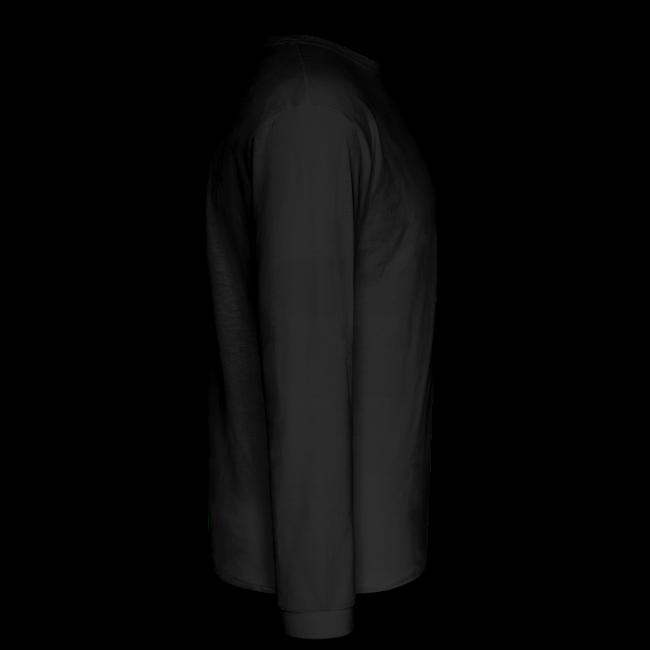 Men's LS Hanes T-OffRd-BK-Back-neon