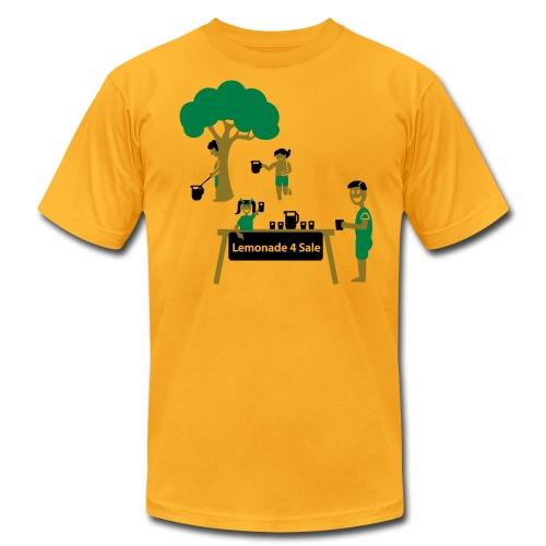 Lemonade Stand - Men's Shirt - Men's Fine Jersey T-Shirt