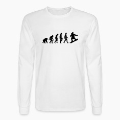 Evolution Snowboarding (1c) Long Sleeve Shirts