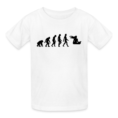 Evolution Zen (1c) Kids' Shirts