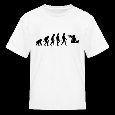Evolution Zen (1c) Kids' Shirts