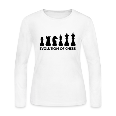 Evolution Chess 2 (1c) Long Sleeve Shirts