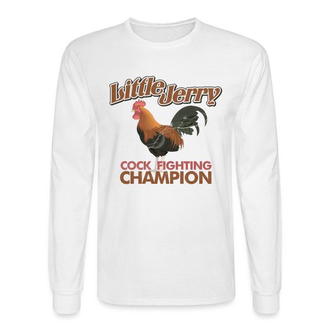 d883bf0a zerotees | Little Jerry Champion - Mens Long Sleeve T-Shirt