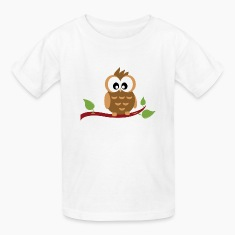 Cute Owl Kids T-Shirt