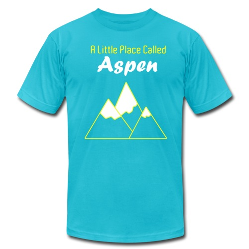 A Little Place Called Aspen - Men's Shirt - Men's Fine Jersey T-Shirt