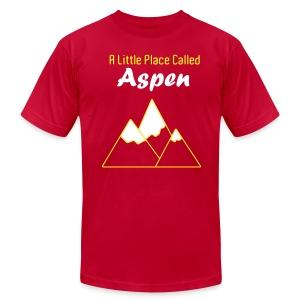A Little Place Called Aspen - Men's Shirt - Men's Fine Jersey T-Shirt