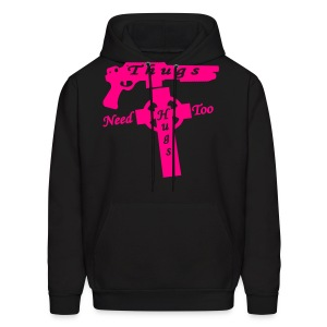Thugs Need Hugs Too - Men's Hoody - Men's Hoodie