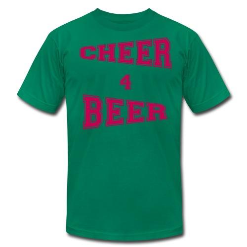 Cheer 4 Beer - Men's Shirt - Men's Fine Jersey T-Shirt