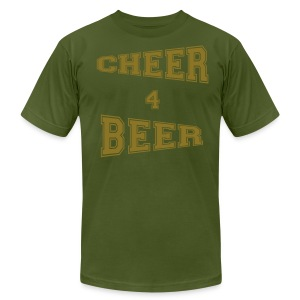 Cheer 4 Beer - Men's Shirt - Men's Fine Jersey T-Shirt