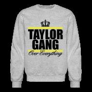 Long Sleeve Shirts ~ Crewneck Sweatshirt ~ Taylor Gang Crown Sweatshirt