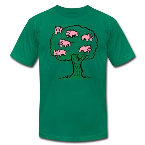 Pig Tree - Men's Fine Jersey T-Shirt