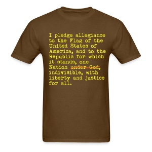 Pledge - Men's T-Shirt