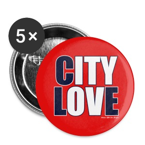 City Love Button Pack - Small Buttons