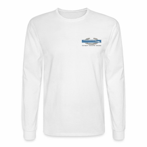 Combat Infantry Badge - Men's Long Sleeve T-Shirt