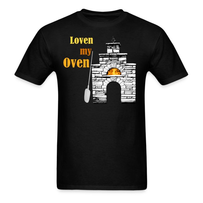 Tshirt for woodfired ovens - Loven My Oven - Unisex