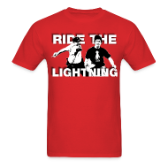 T-Shirts ~ Men's T-Shirt ~ RIDE THE LIGHTNING RETURNS