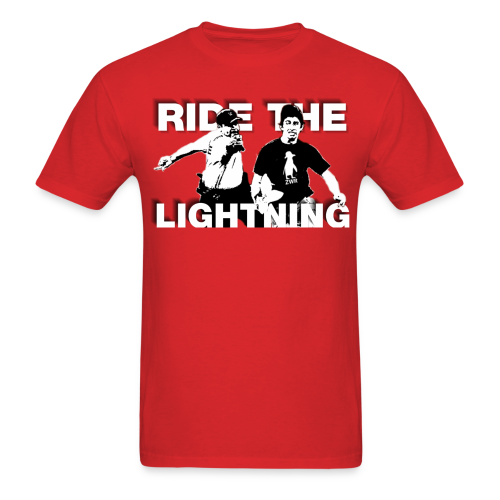 RIDE THE LIGHTNING RETURNS - Men's T-Shirt