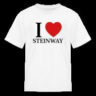 Kids' Shirts ~ Kids' T-Shirt ~ I Love Steinway