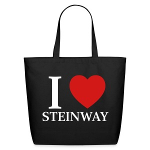 I Love Steinway - Eco-Friendly Cotton Tote