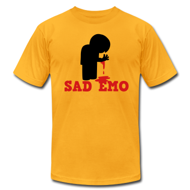 SAD EMO with blood T-Shirts