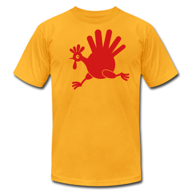 simple turkey on the run THANKSGIVING T-Shirts