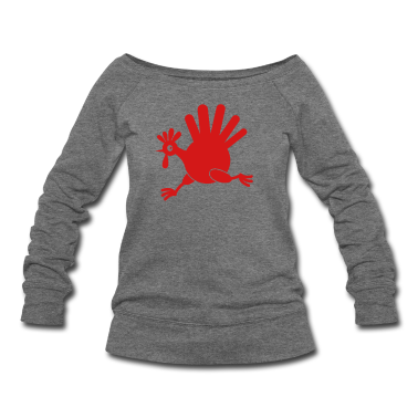 simple turkey on the run THANKSGIVING Long Sleeve Shirts