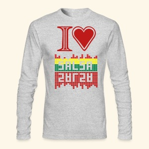 I LOVE SALSA - Men's Long Sleeve T-Shirt by Next Level