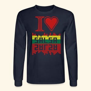 I LOVE SALSA TEE - Men's Long Sleeve T-Shirt