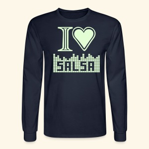 I LOVE SALSA - Men's Long Sleeve T-Shirt