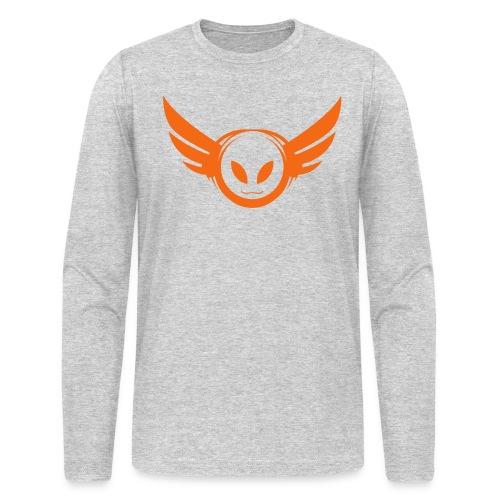 Betamorph Alien Logo Long Sleeve - Men's Long Sleeve T-Shirt by Next Level