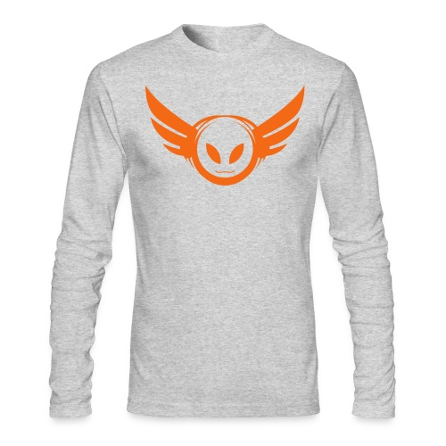 Betamorph Alien Logo Long Sleeve - Men's Long Sleeve T-Shirt by Next Level