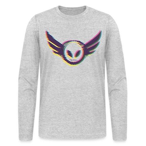 Betamorph Alien Logo Long Sleeve |CMYK - Men's Long Sleeve T-Shirt by Next Level