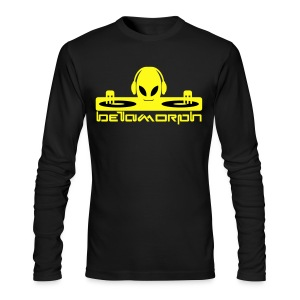 Betamorph Alien Logo Long Sleeve | Alien DJ - Men's Long Sleeve T-Shirt by Next Level