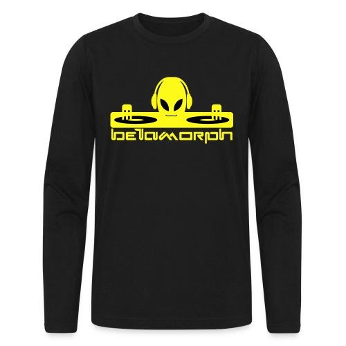 Betamorph Alien Logo Long Sleeve | Alien DJ - Men's Long Sleeve T-Shirt by Next Level