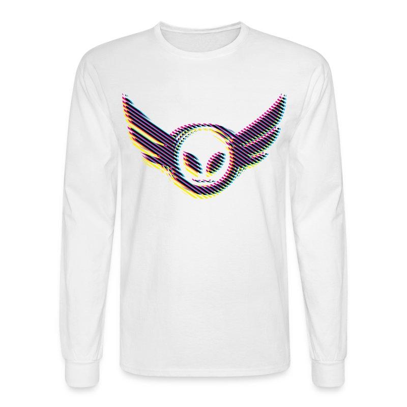 Betamorph Alien Logo Long Sleeve |CMYK - Men's Long Sleeve T-Shirt