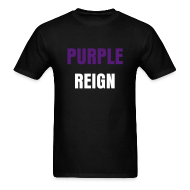 T-Shirts ~ Men's T-Shirt ~ SLB Purple Reign Shirt
