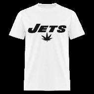 T-Shirts ~ Men's T-Shirt ~ Jets Leaf