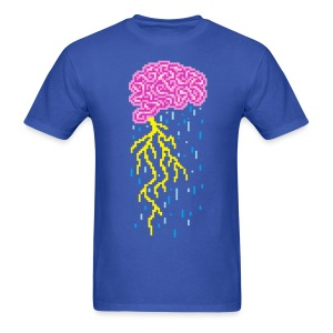 Brain Storm - Men's T-Shirt