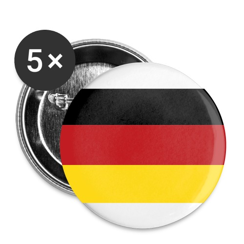 German Flag Buttons - Small Buttons
