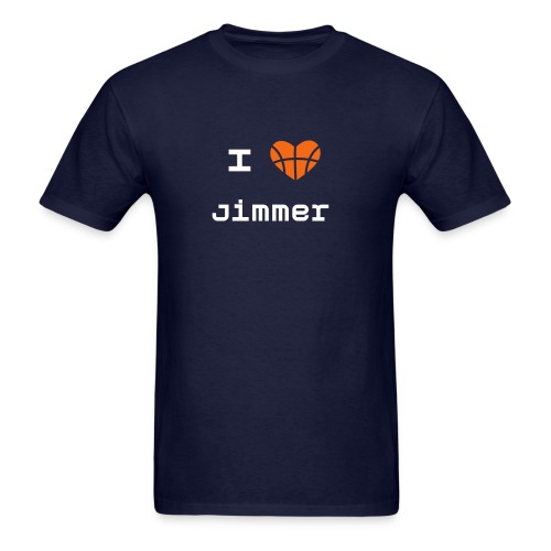 I Heart Jimmer Men's Tee - Men's T-Shirt
