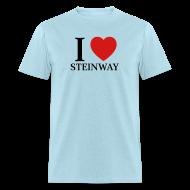 T-Shirts ~ Men's T-Shirt ~ I Love Steinway