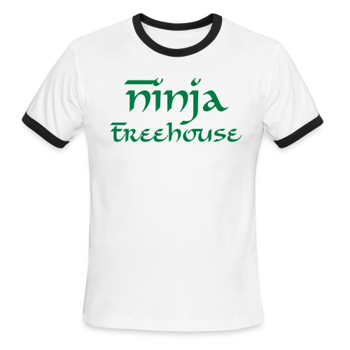 Ninja Treehouse Tee - (Male) - Men's Ringer T-Shirt