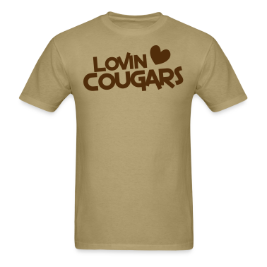 lovin cougars with love heart T-Shirts